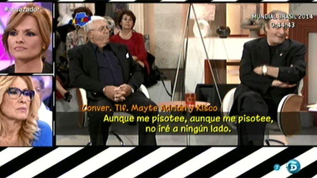 Kisko vuelve a delatarse en una nueva conversación telefónica con Mayte Adrián