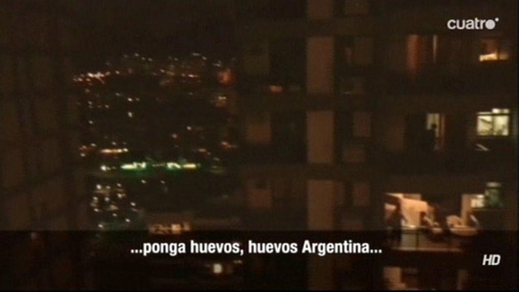 Así suena la afición argentina en Río de Janeiro: ¡Pónganle huevos!
