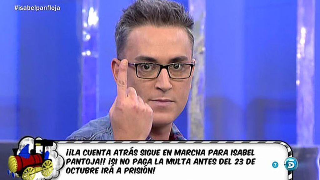 """Kiko H.: """"Agustín Pantoja rechazó una oferta para Isabel de un millón de euros"""""""