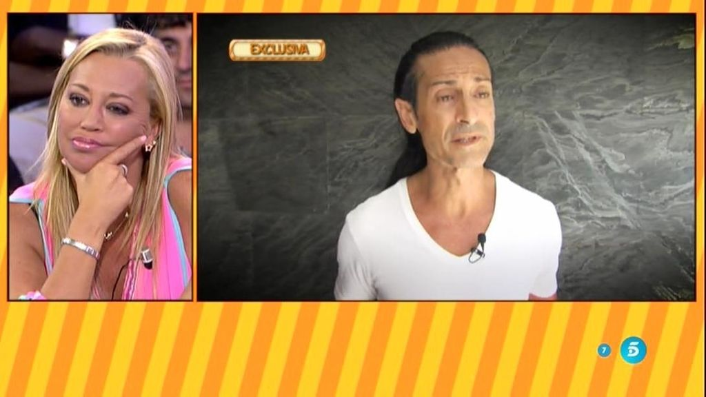 "Sandro Rey: ""Me he sentido utilizado por Belén Esteban dentro de la casa"""