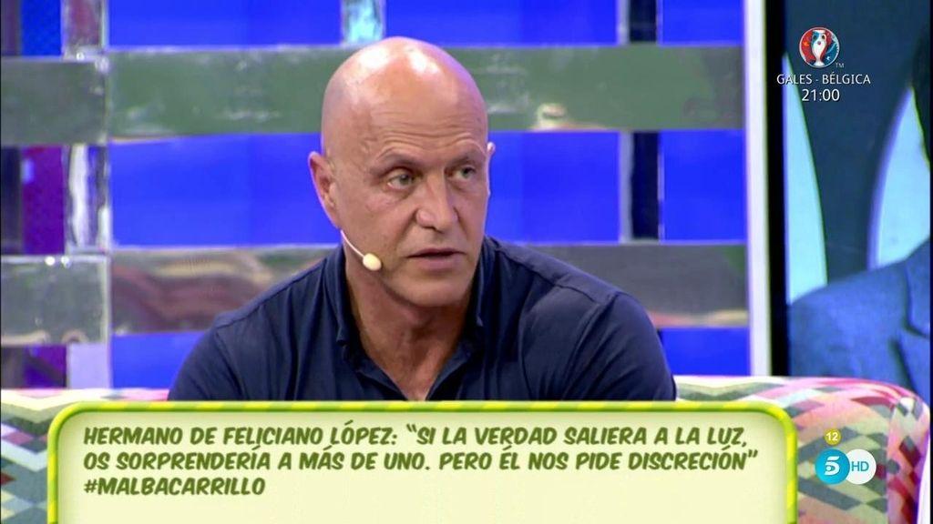 """Kiko M.: """"La información que ha salido contra Alba ha salido del entorno de Feliciano"""""""