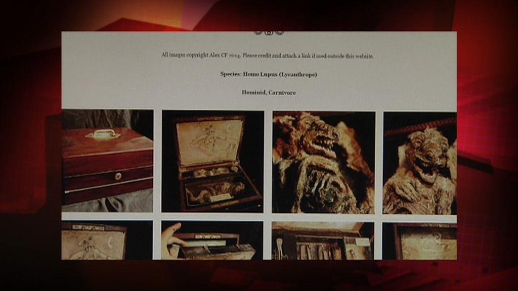 Misterio 4.0: Los objetos y restos momificados Cryptid Merrylin