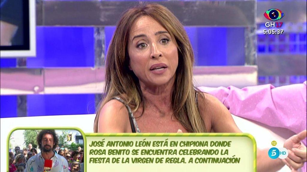 """Patiño: """"Rosa Benito está dolida con Rocío porque nunca fue a conocer a sus nietos"""""""
