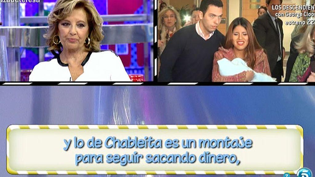 La audiencia opina que la ruptura de Chabelita y Alberto Isla es un montaje