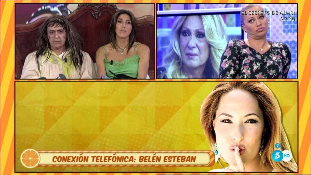 """Belén Esteban, de R. Benito: """"Espero que le vaya bien, no quiero tener contacto con ella"""""""
