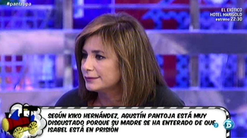 """Gema López: """"Isabel Pantoja ha entrado en prisión sin entregar la Medalla de Oro"""""""
