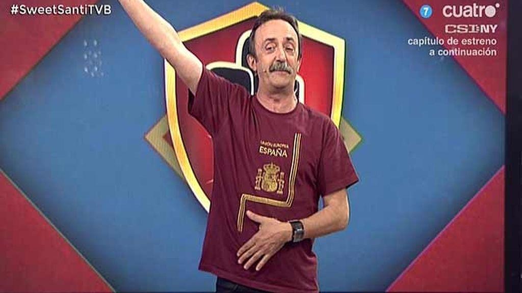 Santi Rodriguez y su chiste de las magdalenas, en 'Todo va bien'