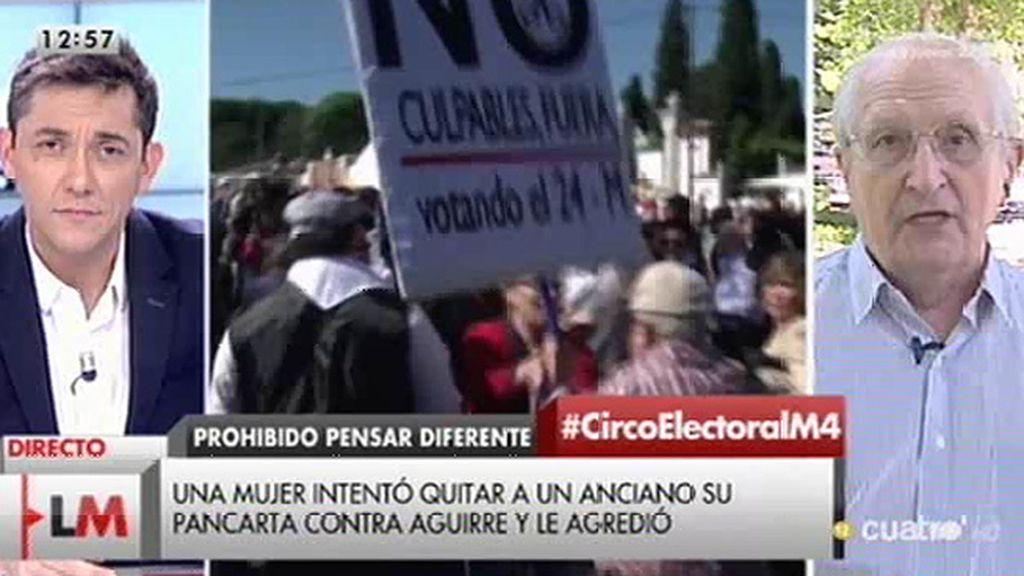 """Martín Sagrera: """"Amordazan a la gente que quiere luchar por sus principios"""""""