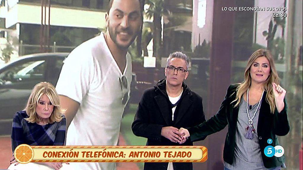 Antonio Tejado niega que su pareja esté esperando un hijo