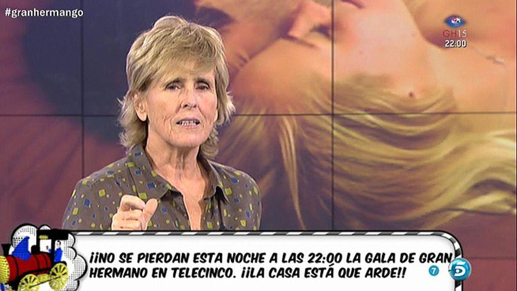 """Mercedes Milá: """"Esta noche entra en 'Gran Hermano' la ex de Omar"""""""