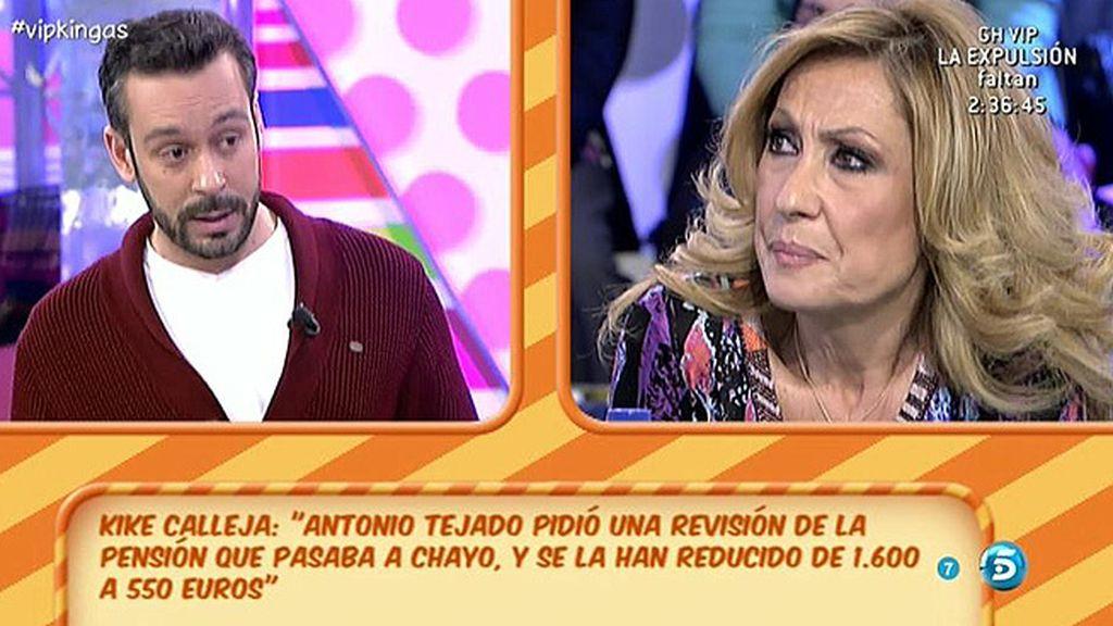 Antonio Tejado afirma que tienen que pasar 550 euros de pensión