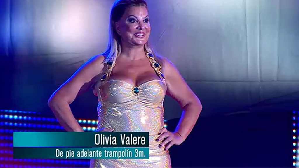 Olivia Valere: salto de pie adelante desde el trampolín de 3 metros