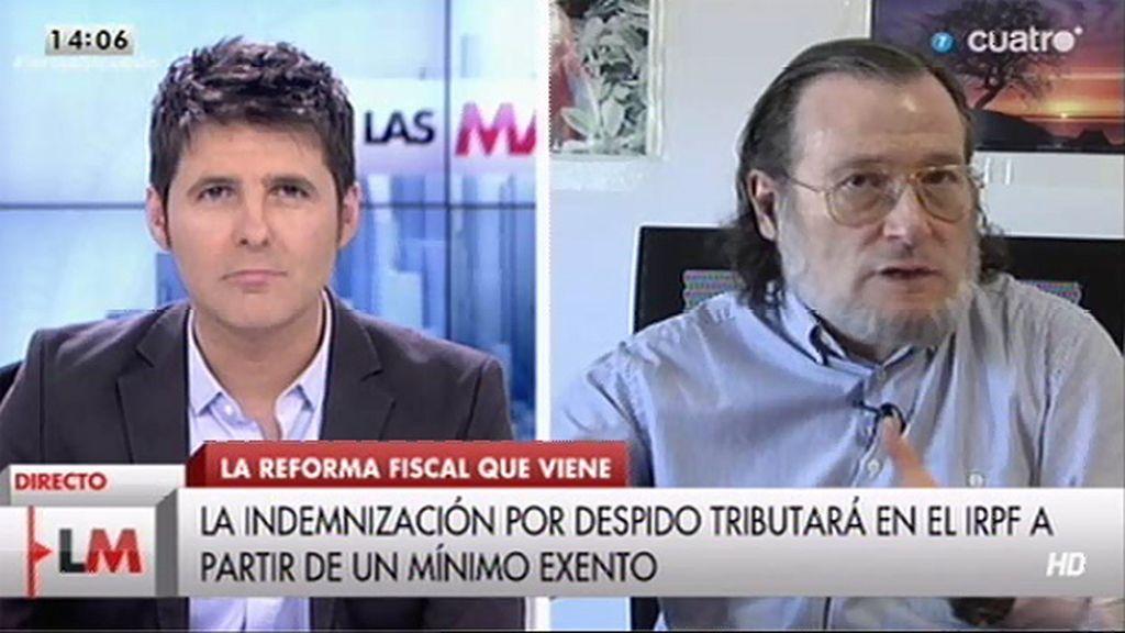 """""""Si España baja impuestos va a tener que subirlos el año que viene o realizar unos recortes salvajes de gasto"""""""