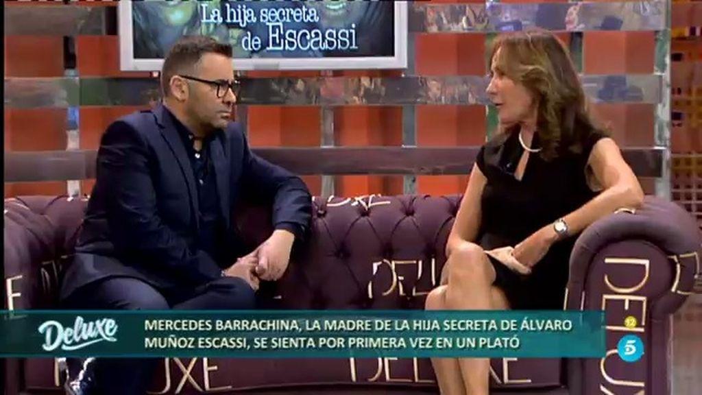 """Mercedes Barrachina: """"Con Álvaro fue una noche loca, él tenia 19 años y yo tenía 32"""""""