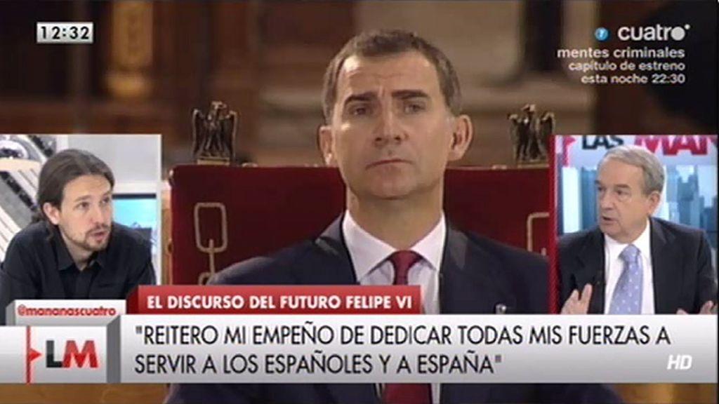 """Apezarena: """"Los españoles no votaron casi nada pero nada se desgaja, todo eso nos vale menos la monarquía"""""""