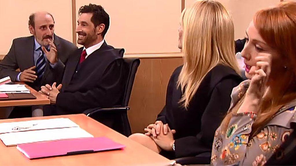 Judith y Enrique, cara a cara en los tribunales