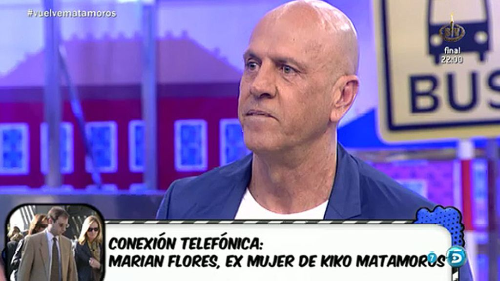 Marian Flores habla, por primera vez, de su matrimonio con Kiko Matamoros
