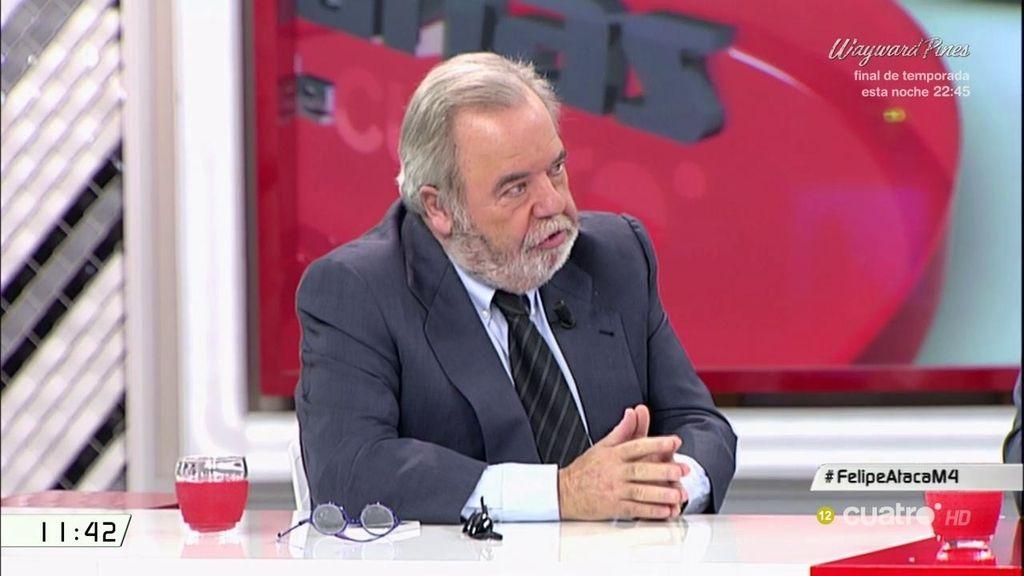 """C. Carnicero: """"Lo que pretende Díaz y quienes le apoyan es una gestora que dé tiempo"""""""