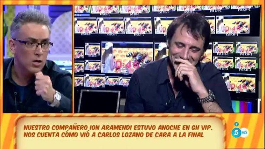 El pique entre Ion Aramendi y Kiko Hernández por 'GH VIP'