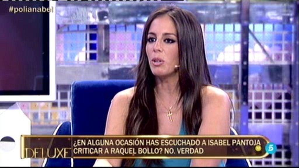 """Anabel Pantoja: """"Sí, he escuchado a Isabel Pantoja criticar a Chelo G. Cortés"""""""