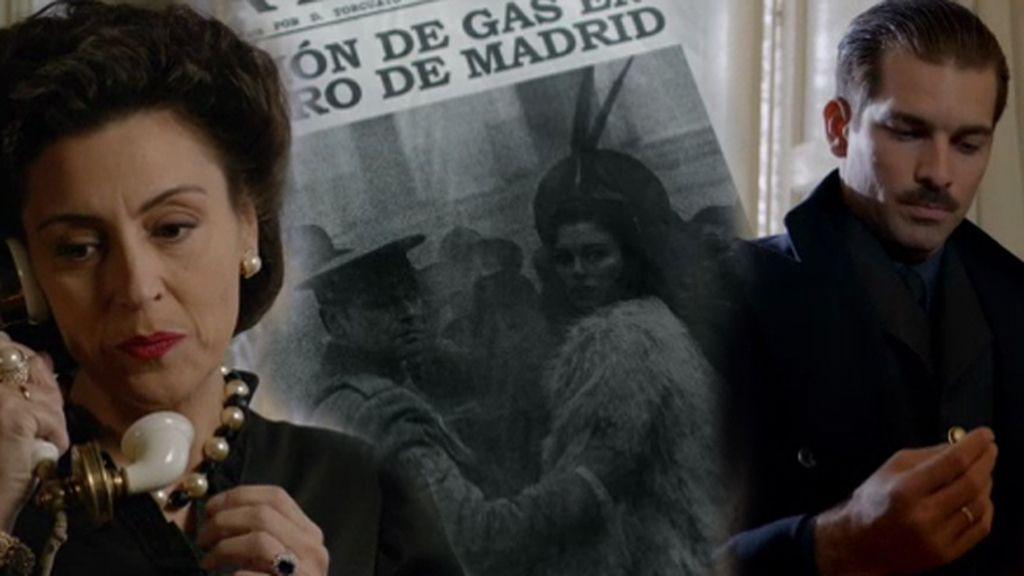 Un pendiente y una portada comienzan a desatar las sospechas de Carmen Polo