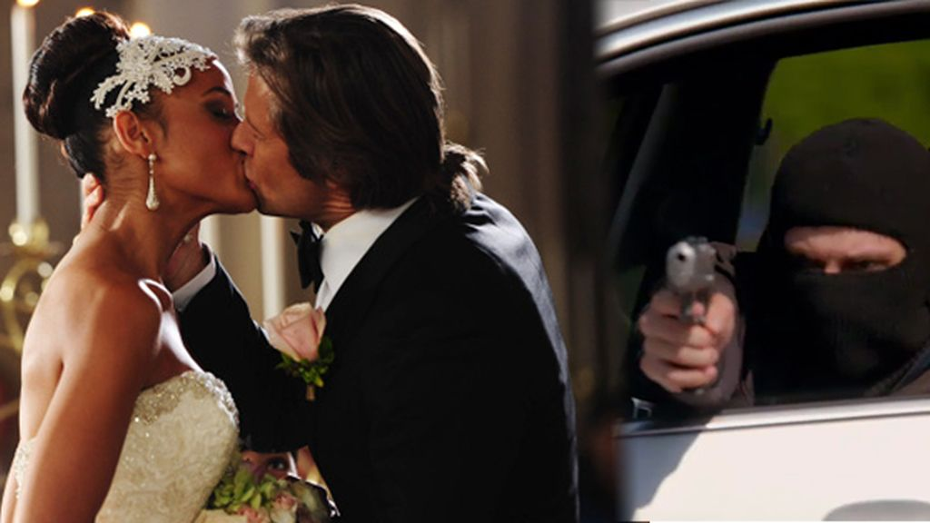 La boda entre Rosie y Spence termina con un trágico disparo