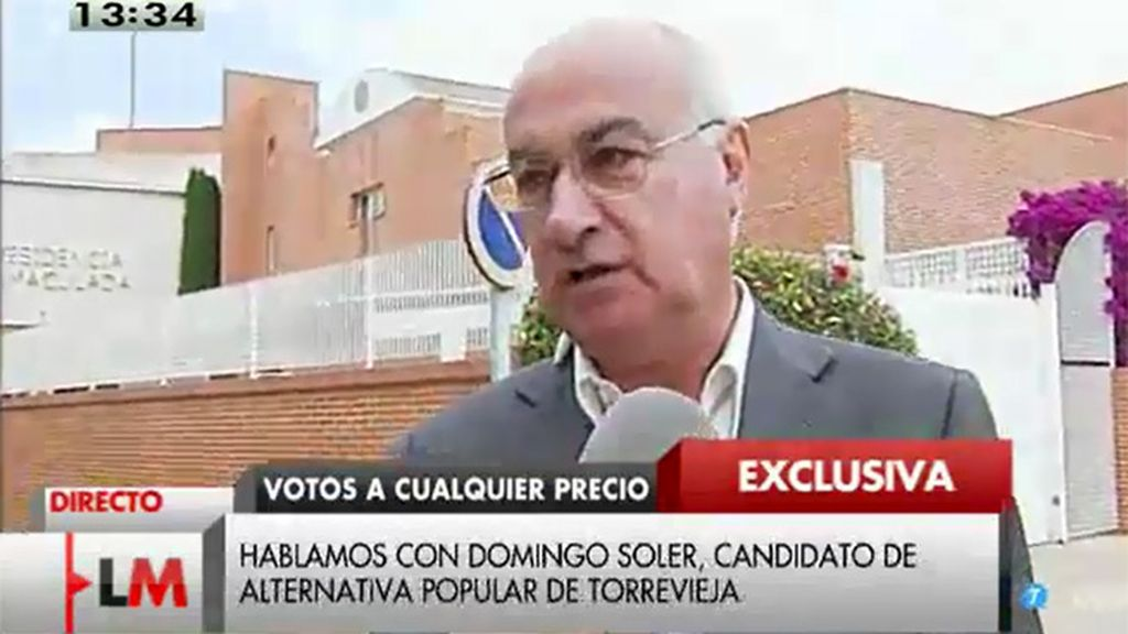"""Domingo Soler: """"Querían hacer todos los votos a favor del PP"""""""