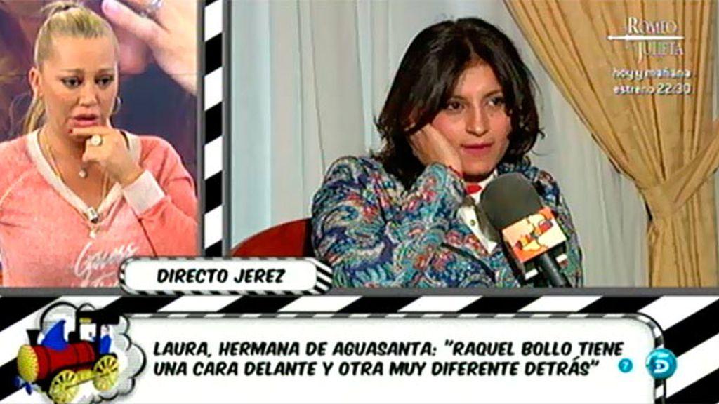 """Belén Esteban, a la hermana de Aguasanta: """"Estás sola en este barco"""""""