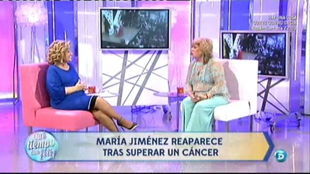 María Jiménez reaparece en televisión