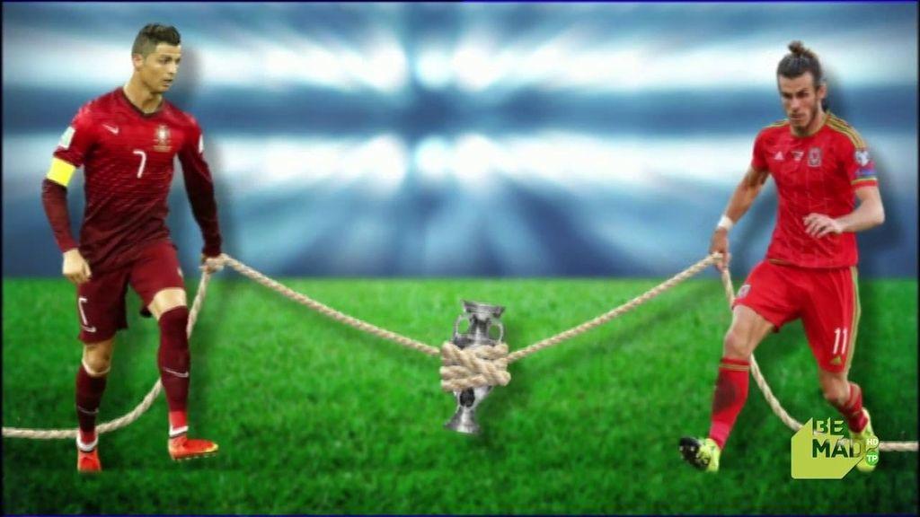 La afición merengue dividida entre Cristiano y Bale: ¿quién prefieren que gane la Euro?