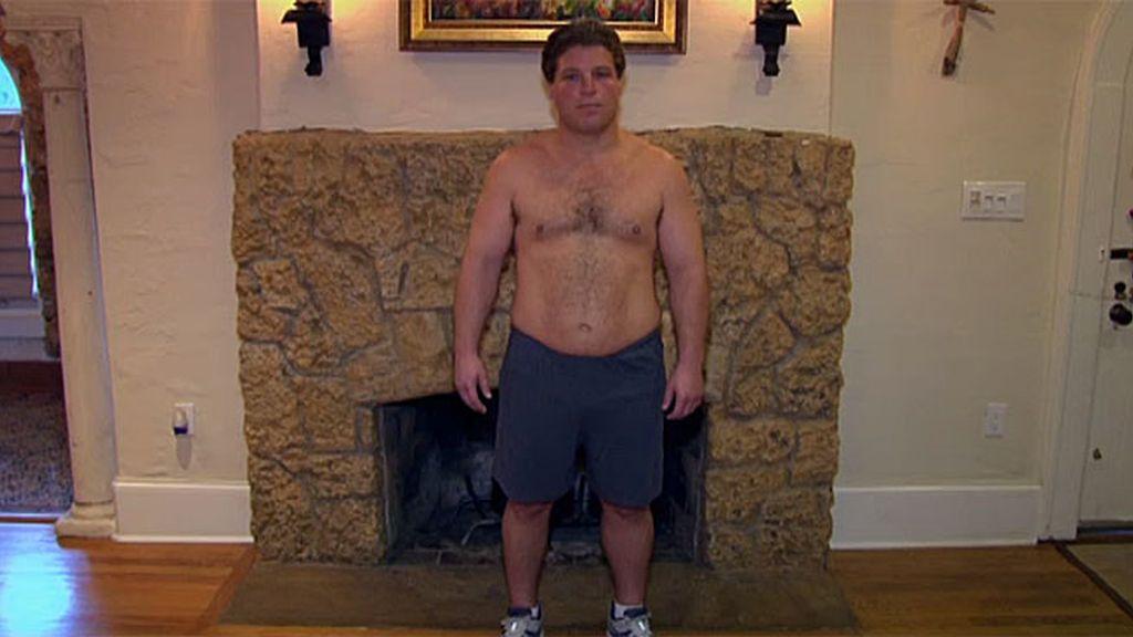 Joe Alcantara tiene 40 años, sobrepeso y es adicto al dulce