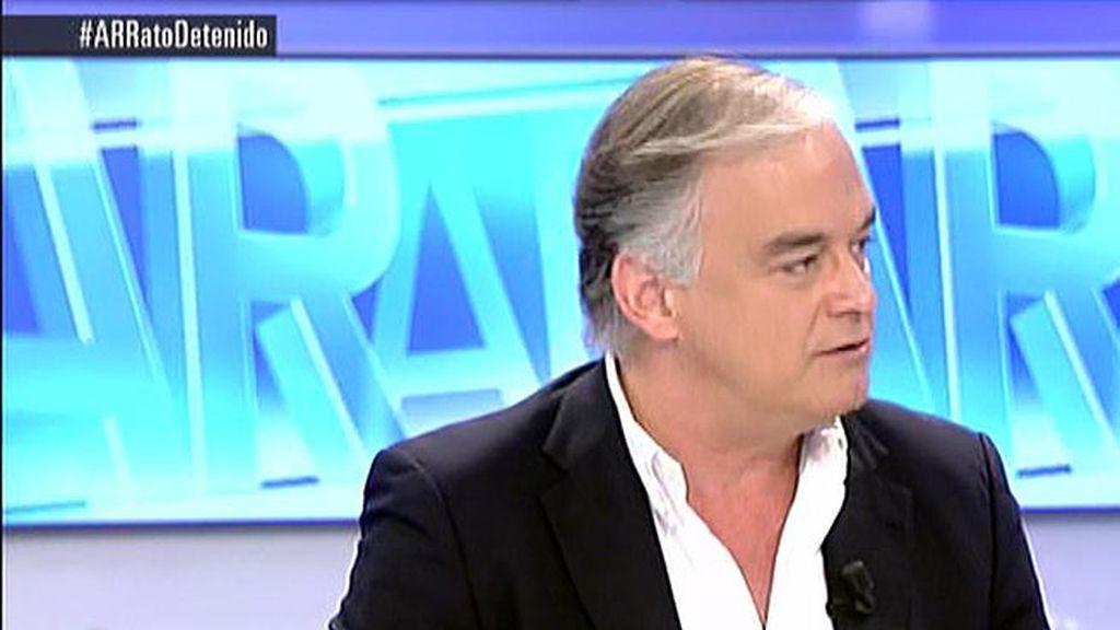 """Esteban G. Pons: """"La detención de Rato no está relacionado con su etapa en el gobierno"""""""