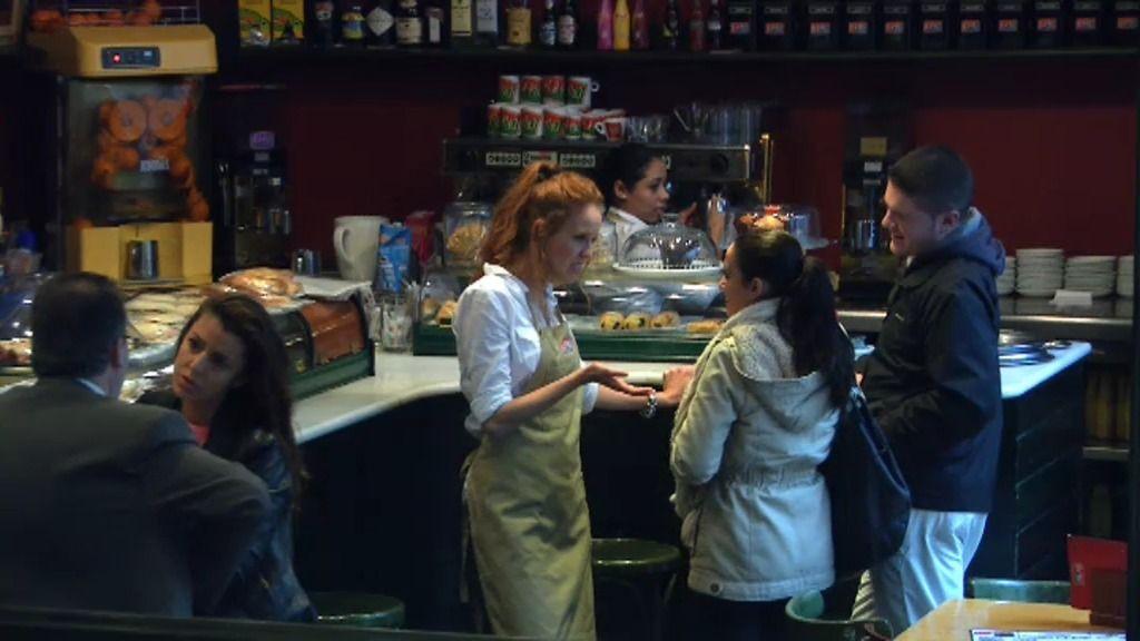 María Castro, una camarera un poco plomo