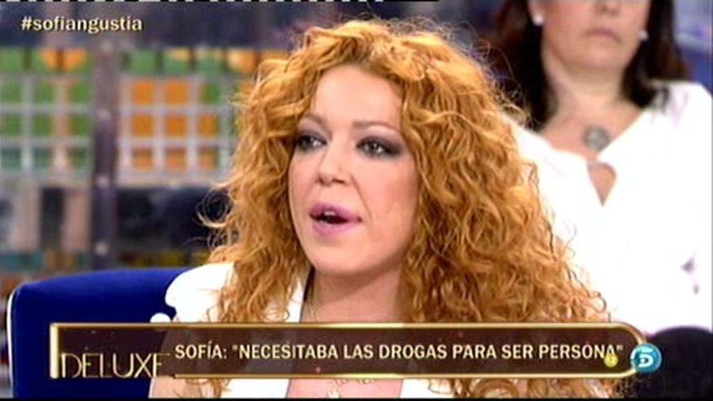 """Sofía Cristo: """"He tenido que renunciar al sexo por mi adicción a las drogas"""""""