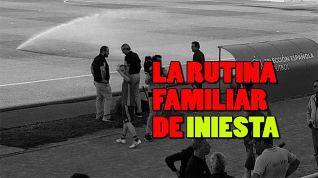 La rutina familiar de Andrés Iniesta: no empieza a entrenar sin...