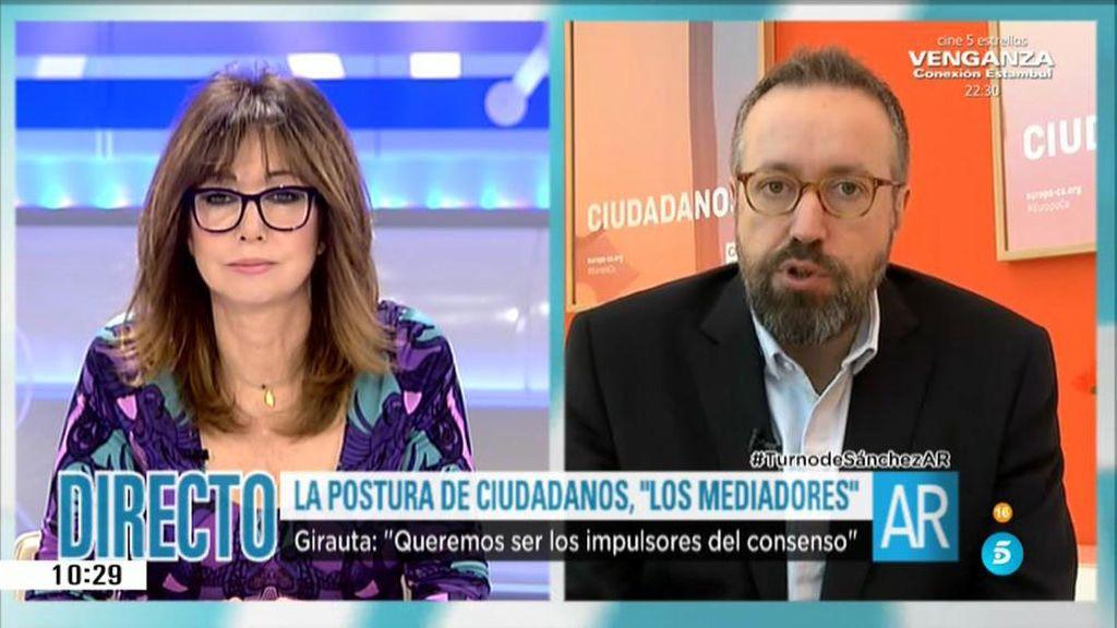 La entrevista íntegra a Juan Carlos Girauta