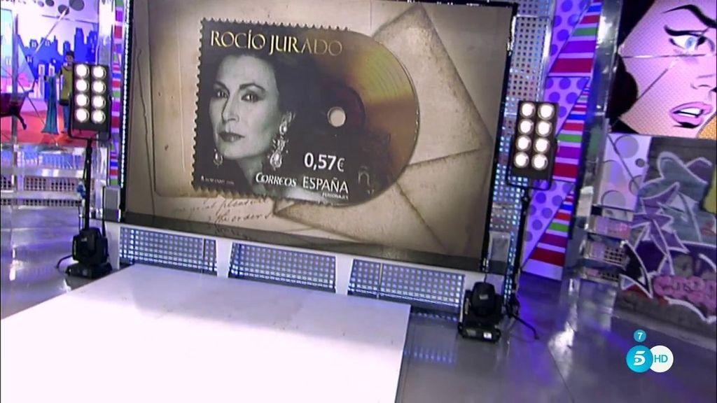 Así es el sello de Rocío Jurado