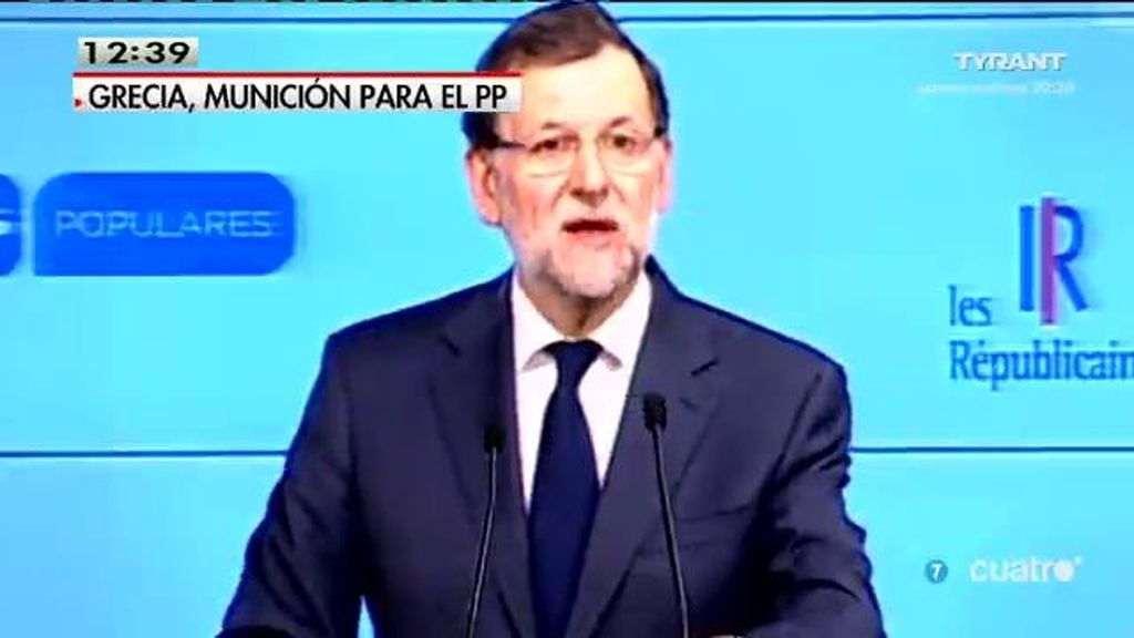 Rajoy acuña la expresión Syriza – Podemos