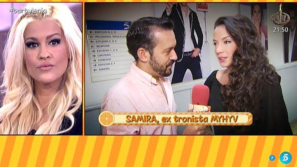 """Samira: """"Lo único en lo que piensa Ylenia es en el show y el drama"""""""