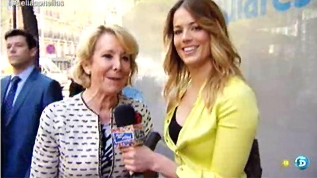 "Alyson Eckman entrevista a Esperanza Aguirre: ""Me recordó a mi abuela"""