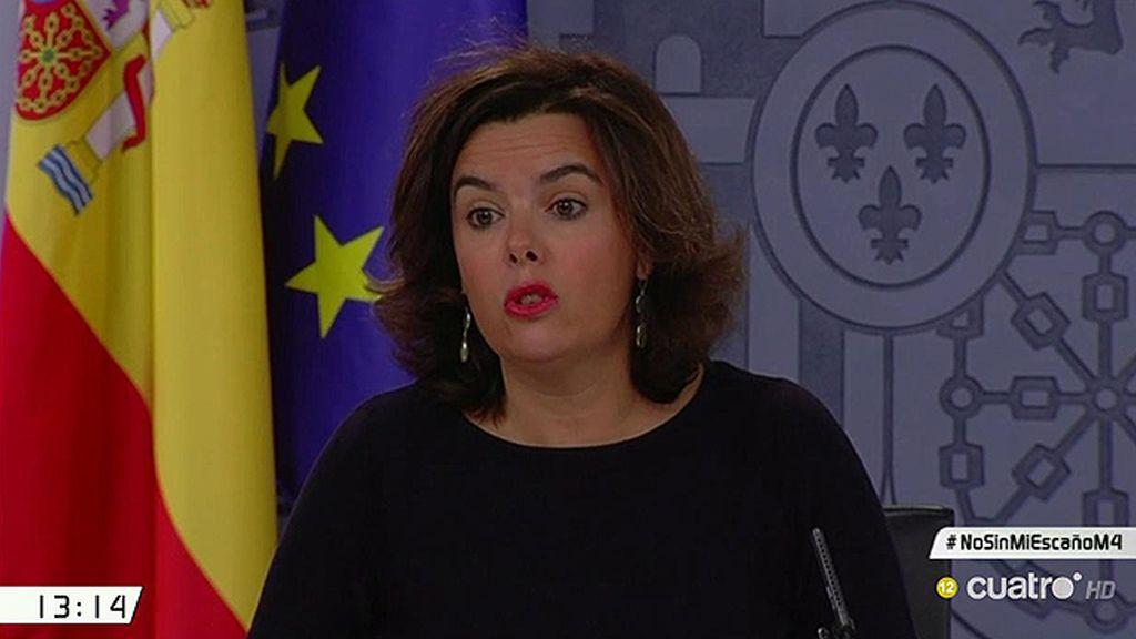 El Gobierno se rinde y asume que no puede pedirle el acta de senadora a Rita Barberá