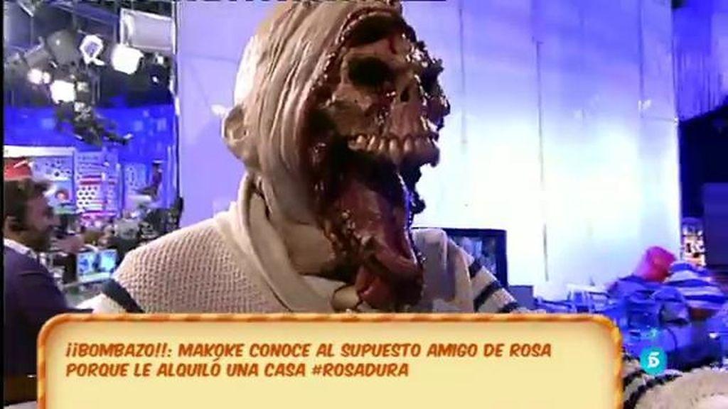 ¡Kiko Hernández se disfraza de Kiko Matamoros pero a lo 'Halloween'!