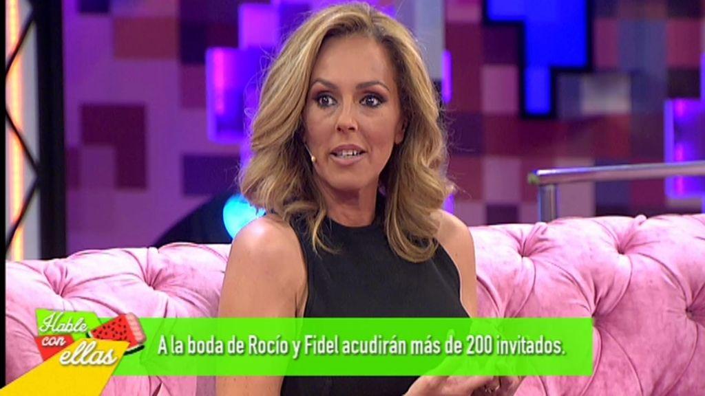 """Rocío Carrasco, de los invitados: """"Es una boda para estar con la gente que nos quiere"""""""