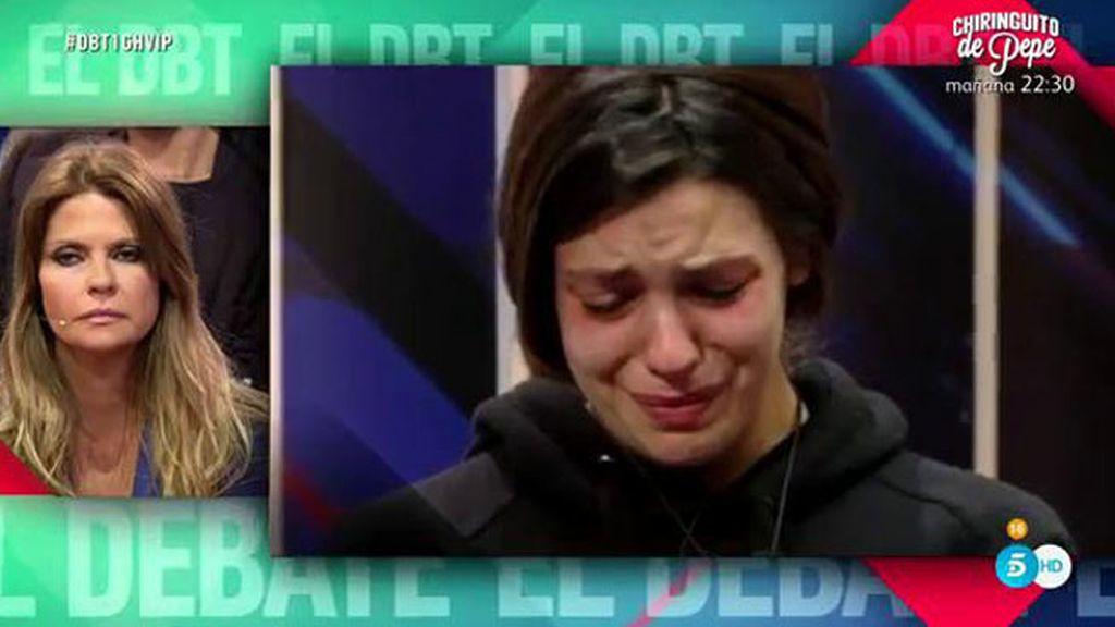 """Laura Matamoros: """"Me duele que mi padre no dé la cara por quien la tiene que dar """""""