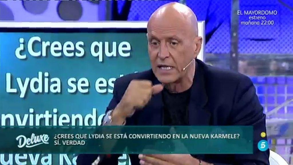 """Kiko Matamoros: """"Lydia se está convirtiendo en la nueva Karmele"""""""
