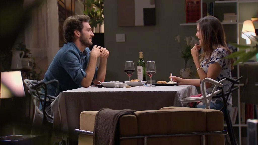 Natalia y Sergio, una cena de amigos