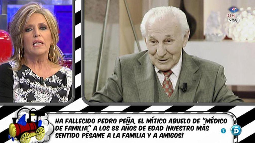Fallece Pedro Peña a los 88 años de edad