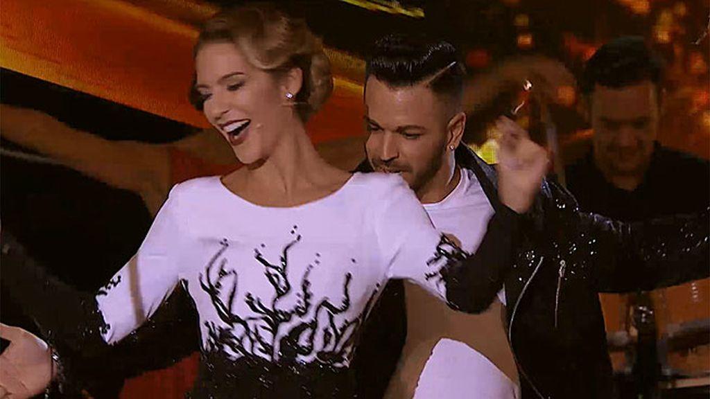 ¡Tamara Gorro se viene arriba y se marca un buen baile a ritmo de 'MSD'!