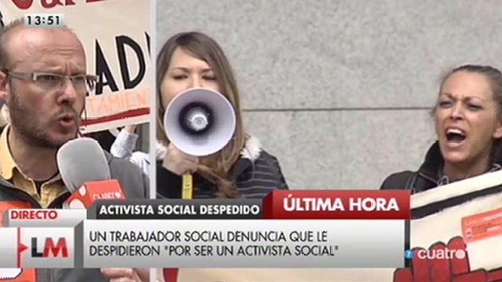 """Un trabajador del Ayto. de Alcobendas: """"Han recurrido la sentencia que les obligaba a readmitirme"""""""