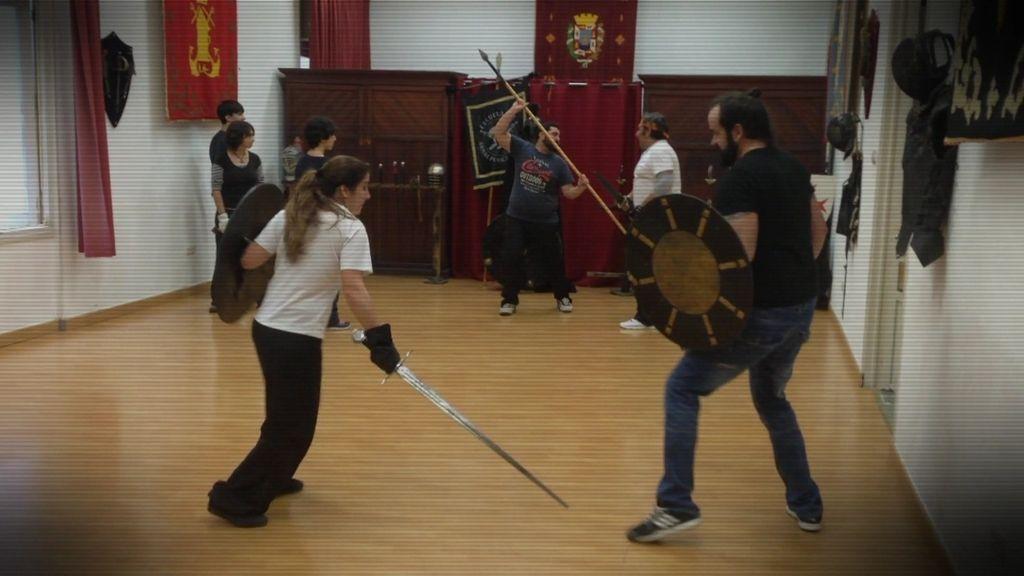 Francisco, un maestro de la Espada y elegido para pelear por Odín en 'Vikings'